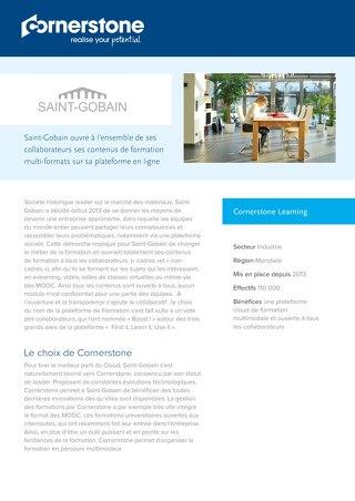 Cas client SAINT GOBAIN