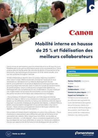 Cas client Canon