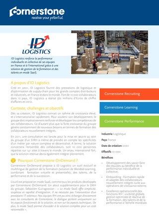 Cas client ID Logistics