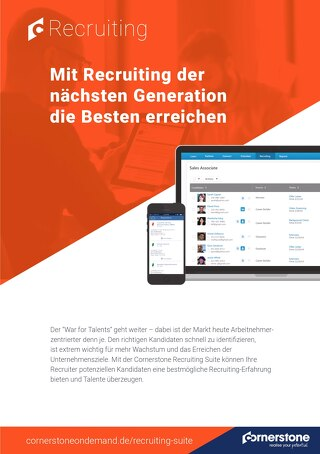 Datenblatt Recruiting Suite