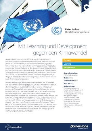 Fallstudie UNFCC - Mit Learning und Development gegen den Klimawandel