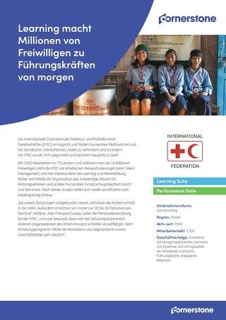 Fallstudie Rotes Kreuz - Learning macht Millionen von Freiwilligen zu Führungskräften von morgen