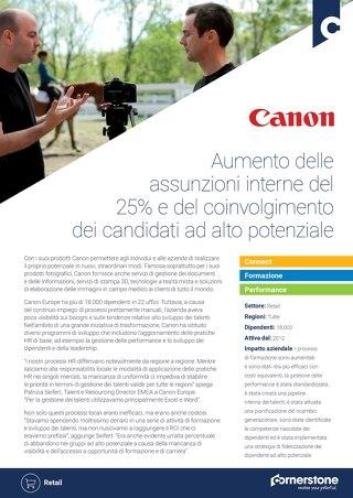 Case Study CANON