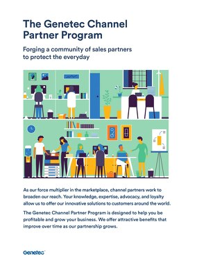 Genetec Channel Partner Program