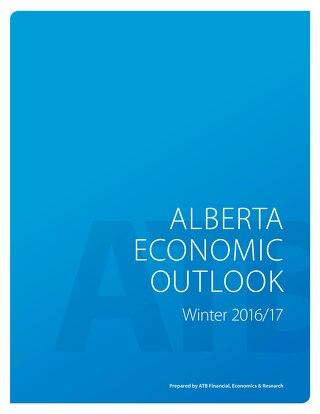 Alberta Economic Outlook (Winter 2016/2017)