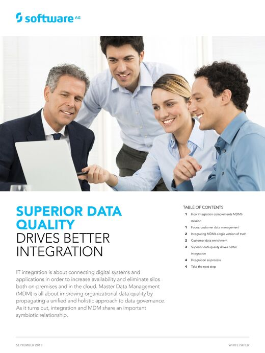Superior Data Quality Drives Better Integration