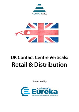 UK Retail: Contact Centre Vertical Markets Report