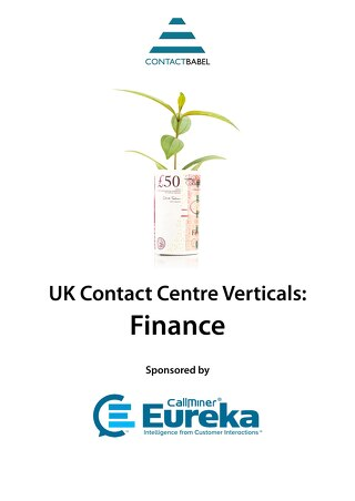 UK Contact Centre Vertical Markets: Financial Services