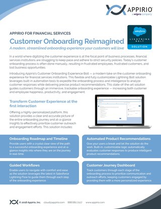 Customer Onboarding Reimagined