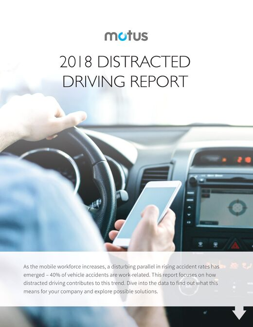 2018 Distracted Driving Report