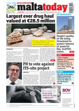 MALTATODAY 19 September 2018 MW
