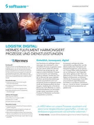 Hermes: Logistik digital