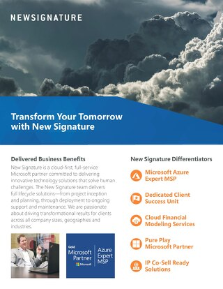 New Signature Solutions Corporate Flyer 2018 Digital