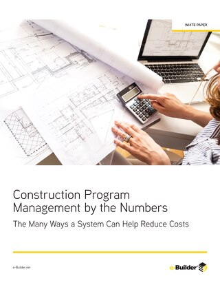 Construction Program Management by the Numbers