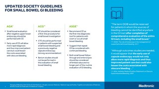 UPDATED SOCIETY GUIDELINES FOR SMALL BOWEL GI BLEEDING