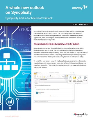 A Whole New Outlook on Syncplicity