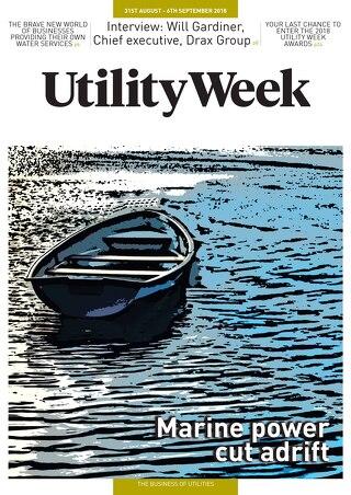 Utility Week 31st August 2018