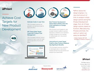 Aerospace & Defense: Achieving Cost Targets