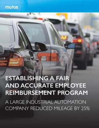 Large Industrial Automation Company Establishes Fair and Accurate Employee Reimbursement Program
