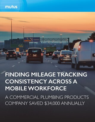 Commercial Plumbing Products Company Finds Mileage Tracking Consistency Across Their Mobile Workforce