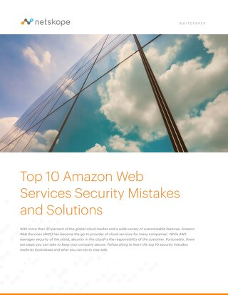 Top 10 AWS Security Mistakes and Solutions
