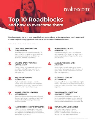 Top 10 Roadblocks and How to Overcome Them