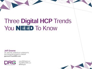 3 HCP Trends you need to know