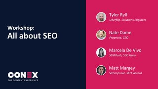 Workshop: All About SEO