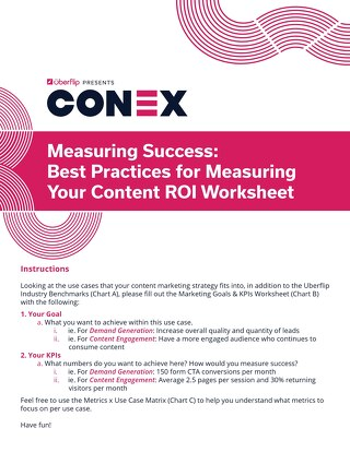 Worksheet: Measuring Success
