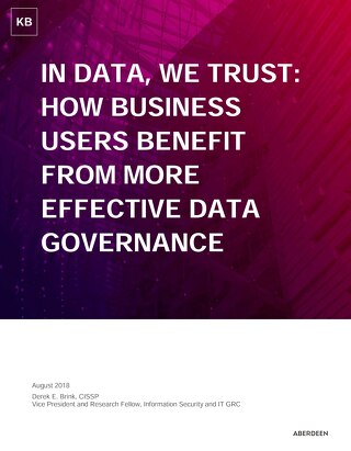 How Business Users Benefit From More Effective Data Governance