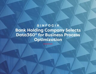Bank Holding Company Selects Data3Sixty® to increase Business Adoption