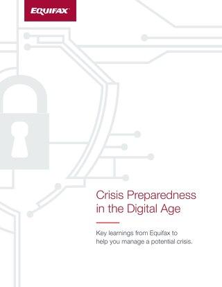 Crisis Preparedness in the Digital Age