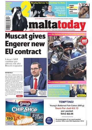 MaltaToday 2 September 2018
