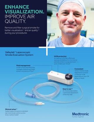 Valleylab™ Smoke Evacuation System Information Sheet