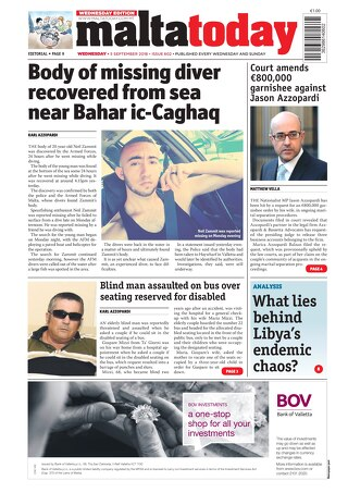 MALTATODAY 5 SEPTEMBER 2018 MIDWEEK