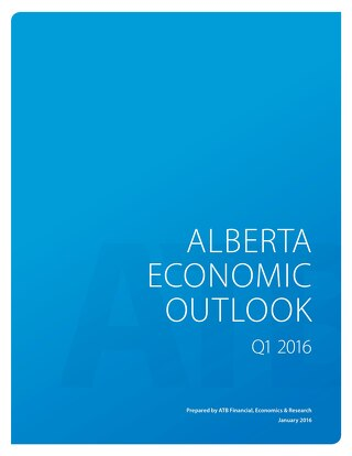 Alberta Economic Outlook - Q1 2016