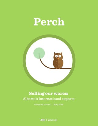 Perch (Selling our wares) - May 2016