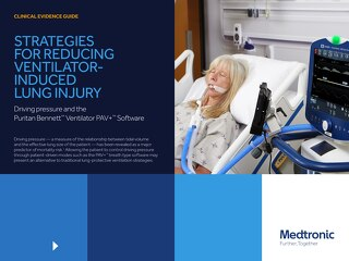 Clinical Evidence Guide: Strategies for Reducing Ventilator-induced Lung Injury