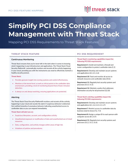 Simplify PCI DSS Compliance Management