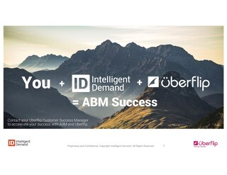 Intelligent Demand ABM and Uberflip Services