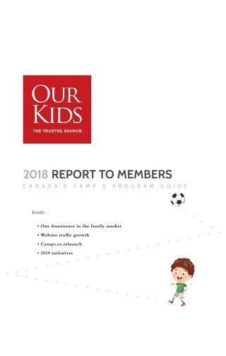 2018 Camp Annual Report