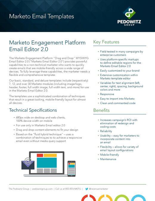 Marketo Email Templates