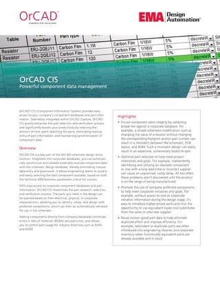 OrCAD CIS
