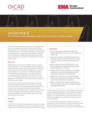 OrCAD PCB SI