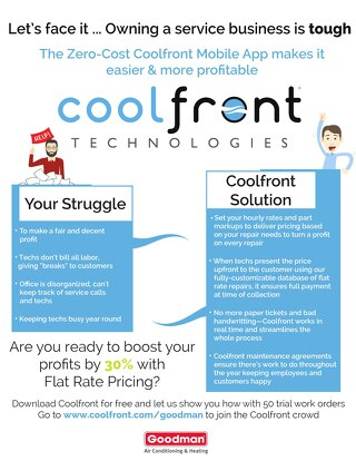 Coolfront Fact Sheet - Goodman