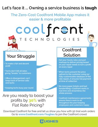 Coolfront Fact Sheet - Hughes Supply