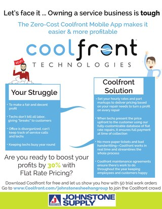 Coolfront Fact Sheet - Johnstone Sheehan Group
