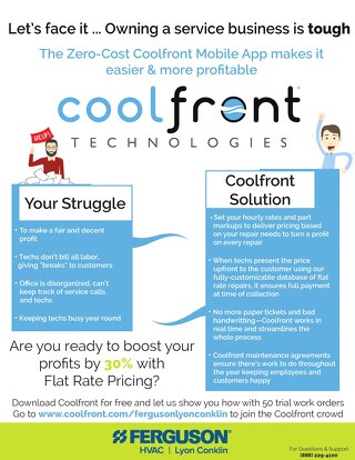 Coolfront Fact Sheet - Lyon Conklin