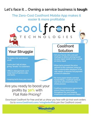 Coolfront Fact Sheet - Mingledorffs