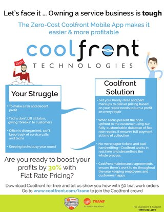 Coolfront Fact Sheet - Trane